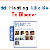 Add Floating Facebook Like Box Widget To Blogger