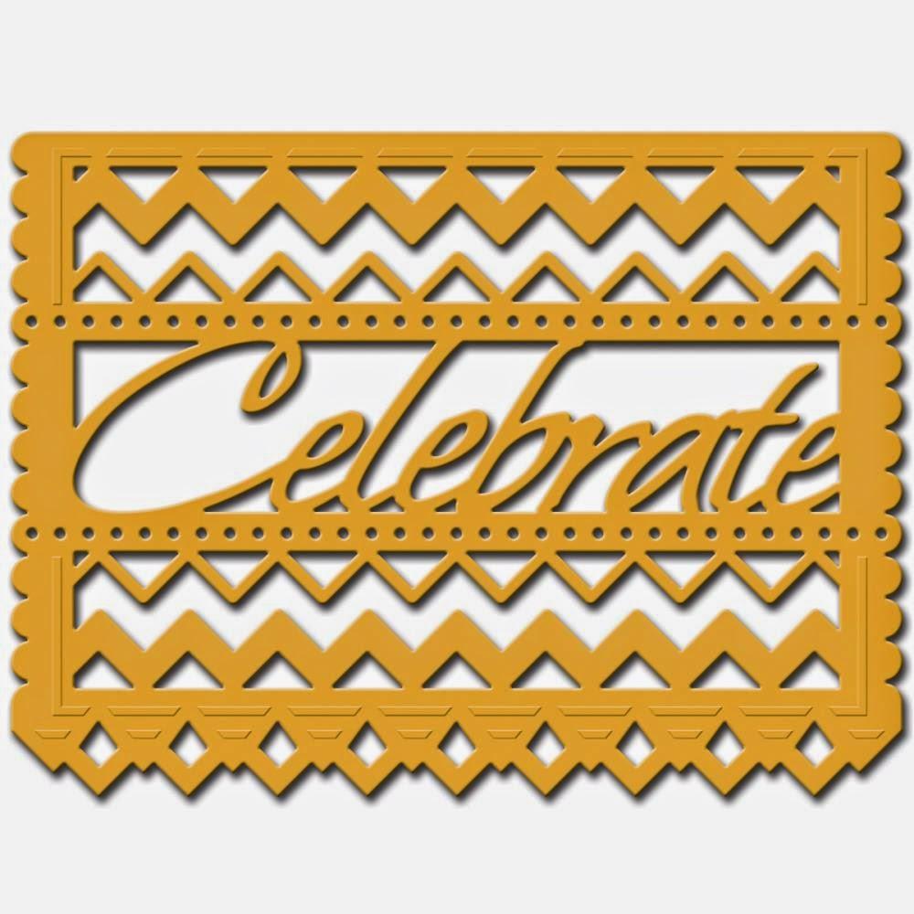 SpellbindersSCD035 - Papel Celebrate - die
