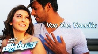 Vaa Vaa Vaa Vennila – Official Video Song | Aambala | Vishal,Hansika | Sundar C | Hiphop Tamizha