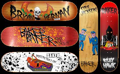 baker skateboards x neckface ©