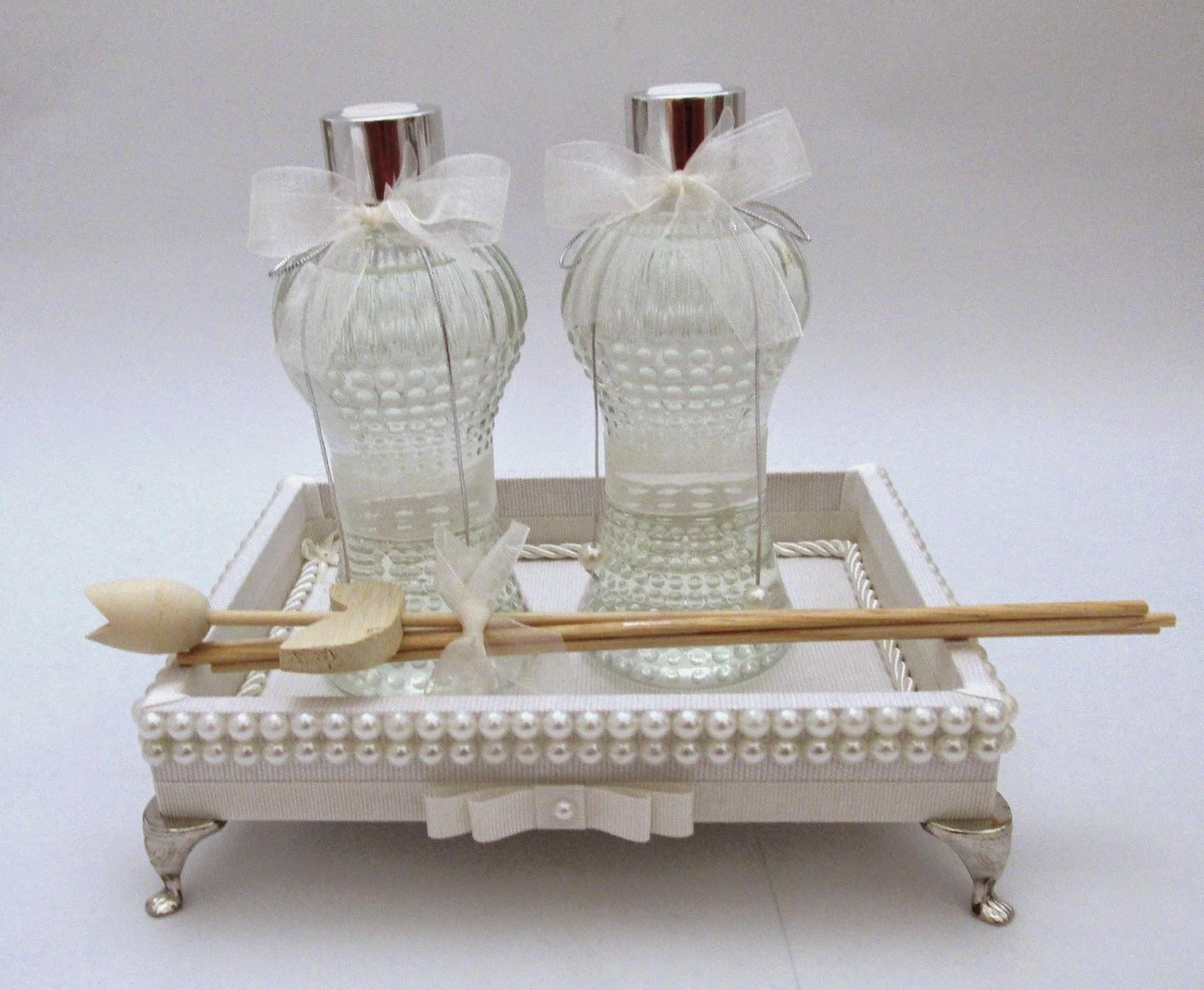 decoracao bandeja lavabo : decoracao bandeja lavabo:Divina Caixa: Kit Lavabo em bandeja com pérolas