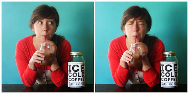 Beat the summer heat with this cold brew coffee tutorial and free printable!