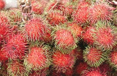 فاكهة رامبوتان fruit rambutan