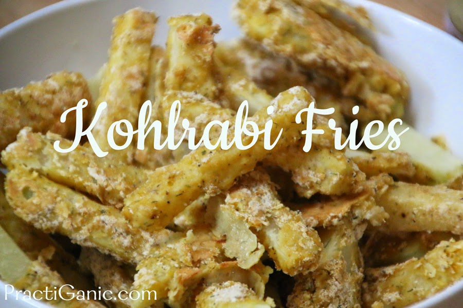 Kohlrabi Fries