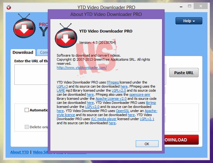 YouTube Downloader Pro v4.3 Full Crack