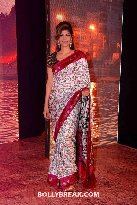 , Hot Babes Launch Zoya Banaras Collection By Taj Khazana