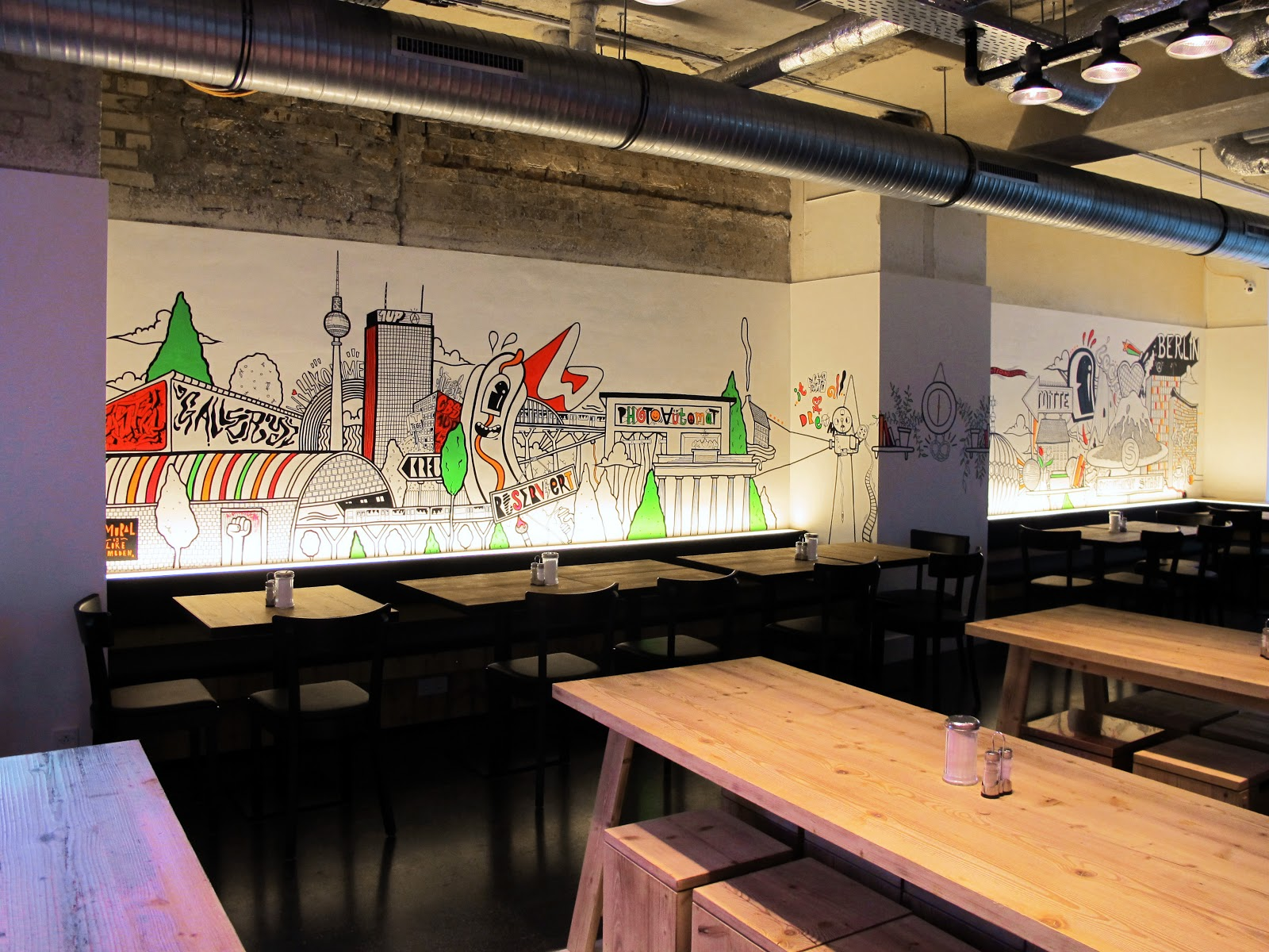 itsmelukeembden generator hostel berlin mitte mural. Black Bedroom Furniture Sets. Home Design Ideas