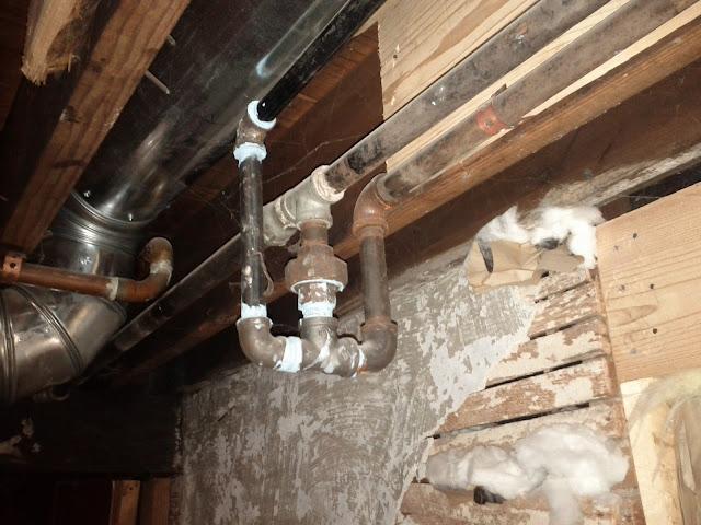 gas meter in basement