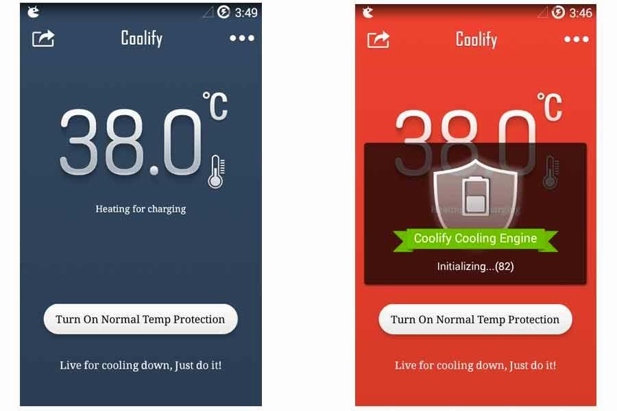 aplikasi untuk mendinginkan android