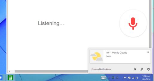 Aktifkan Google Now Windows