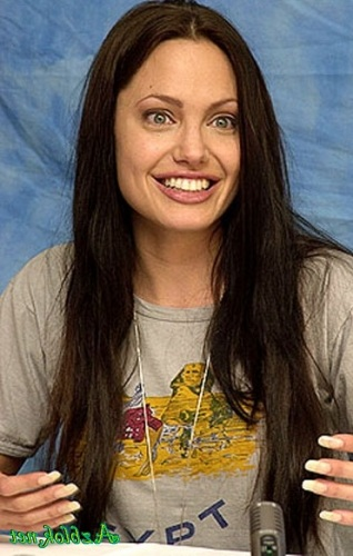 Анджелина джоли без макияжа