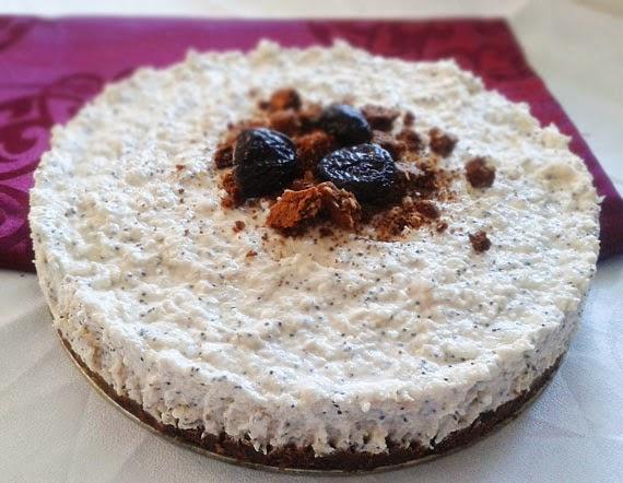 Výsledok vyhľadávania obrázkov pre dopyt Slivkovo-maková tvarohová torta