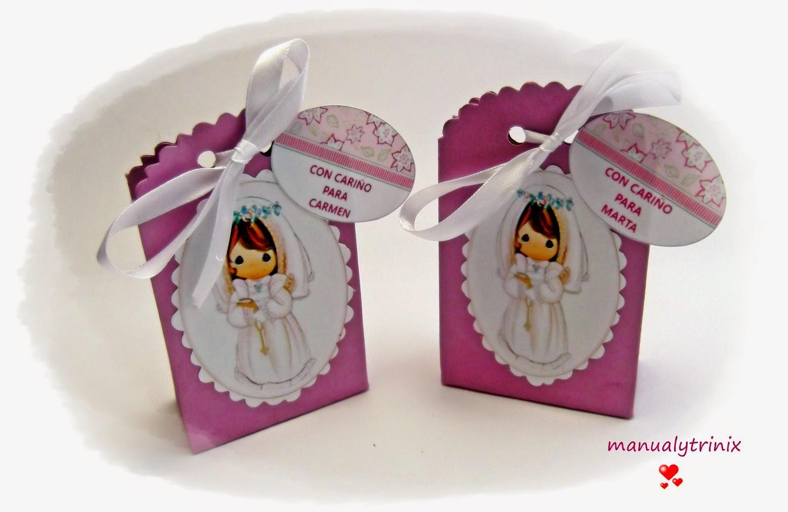 Manualidades manualytrinix regalos de comunion - Manualidades para comunion ...