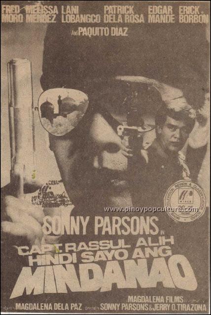Capt. Rassul Alih: Hindi Sayo ang Mindanao, Sonny Parsons, sharpshooters, actors-turned-politicians