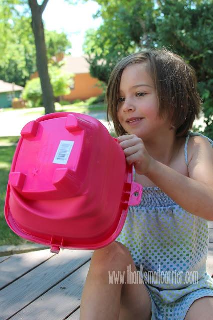 Packable Pails pink