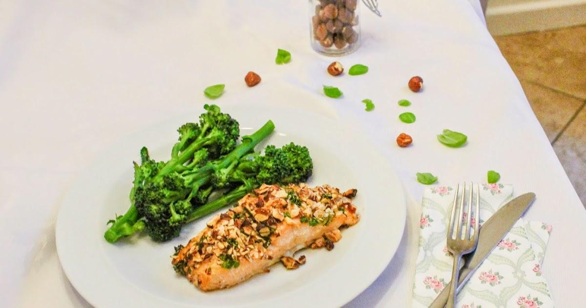 eat like you love yourself: Hazelnut Crusted Salmon