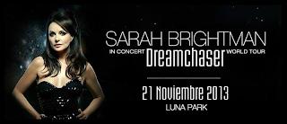 Sarah Brightman en Argentina