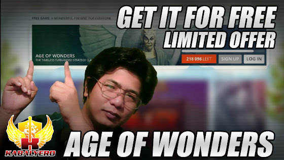 Age Of Wonders, Get It For Free, Limited Offer