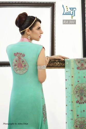 Wareesha Formal Pakistani Dresses 2014