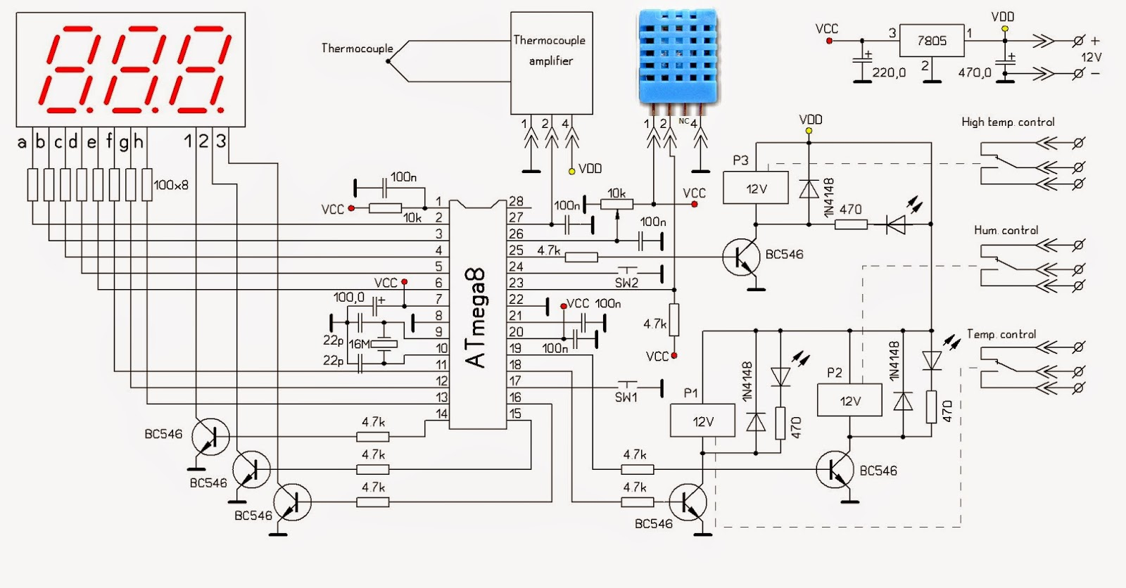 microcontroller home projects  arduino climate control