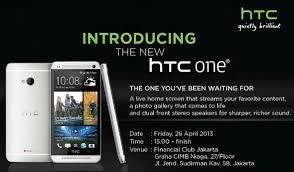 HTC One Hadir Secara Resmi di Indonesia 26 April 2013 ?