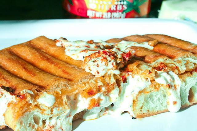 Sundried Tomato Pesto Grilled Cheese Sandwich Recipes — Dishmaps