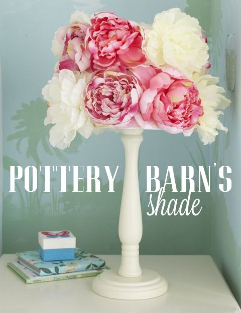 Diy pottery barn lamp shade simply ciani my original inspiration came from pb kids aloadofball Image collections