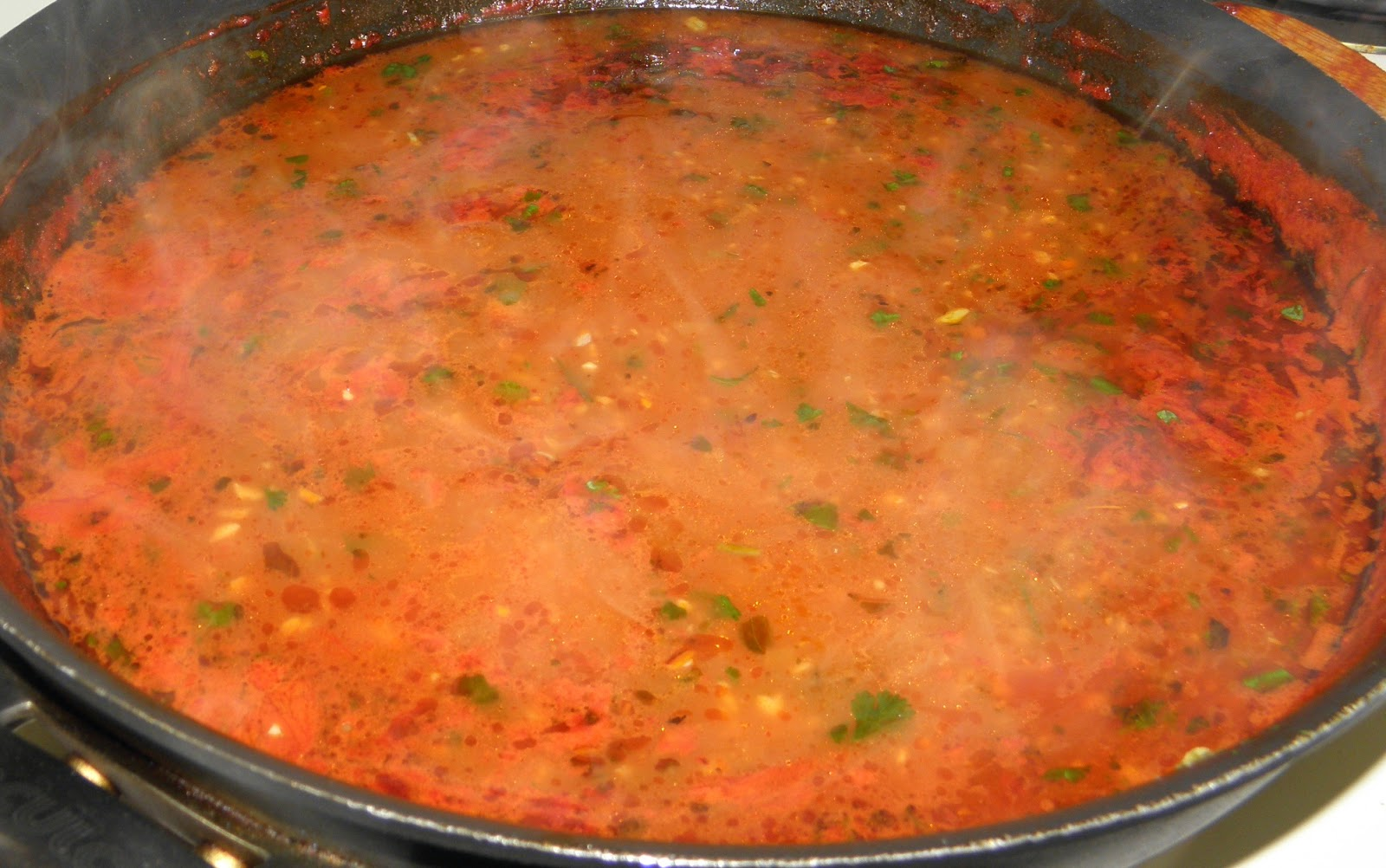 my own special enchilada sauce because most prepared enchilada sauce ...