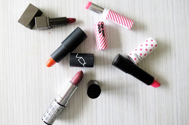 Summer lipstick shades | Little Miss Fii