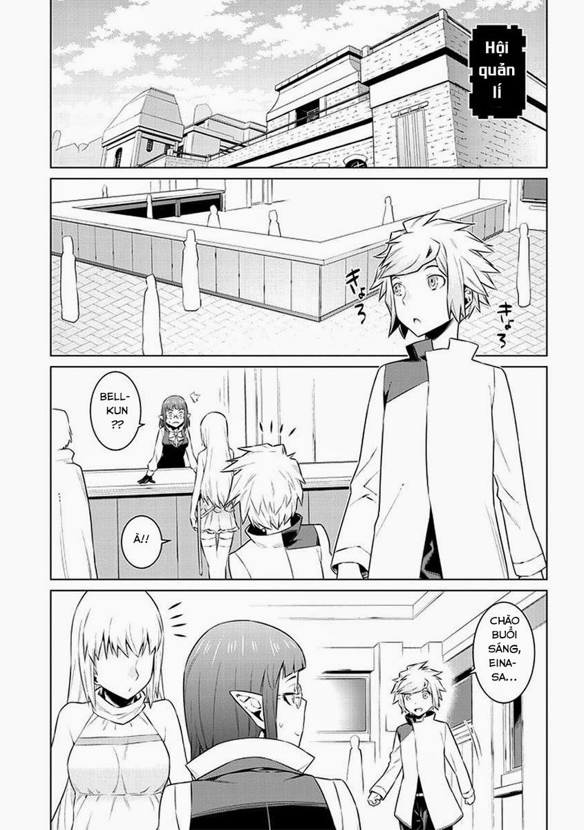 Dungeon ni Deai o Motomeru no wa Machigatte Iru Darou ka chap 31 Trang 6 - Mangak.info