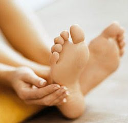 Foot care in monsoon