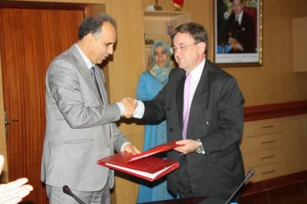 اتفاقية شراكة بين الأكاديمية الجهوية للتربية والتكوين جهة فاس بولمان والمركز الثقافي الإسباني بفاس