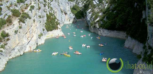 Gorge du Verdon, Prancis