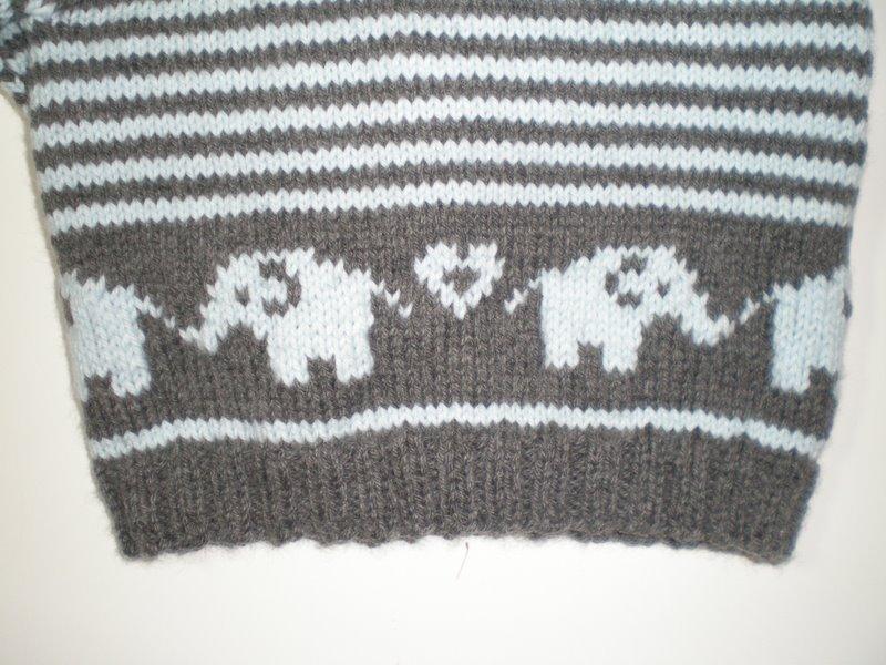 knittingbloggyblog: Catching up... Bellyphant cardigan