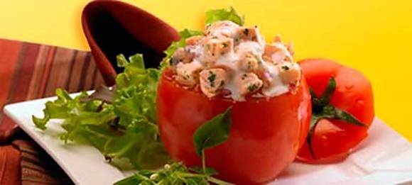 Tomates Rellenos De Salmon