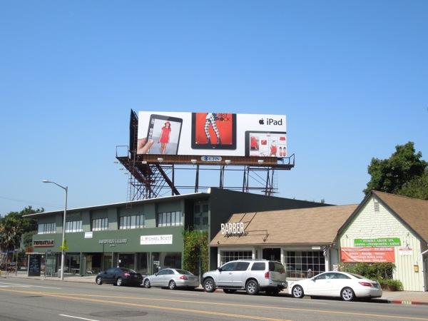iPad fashion billboard Summer 2013