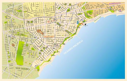Mapa de Lima – Peru