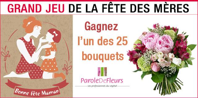 25 bouquets de fleurs Parole de Fleurs