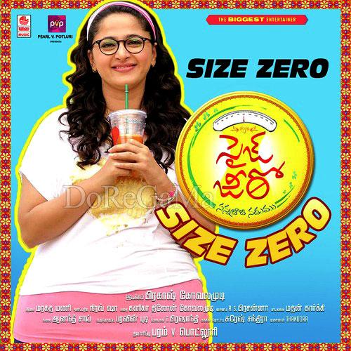 Poster Of Size Zero 2015 480p Telugu HDRip Full Movie