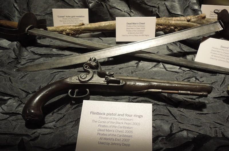 Jack Sparrow flintlock pistol prop