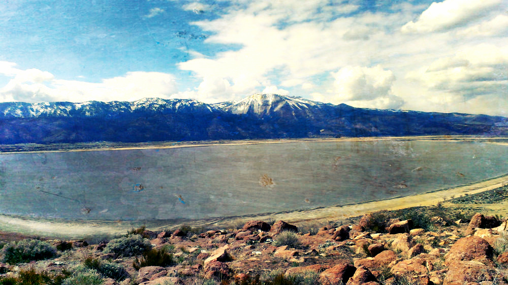 Washoe Lake Nevada by Beth Hemmila
