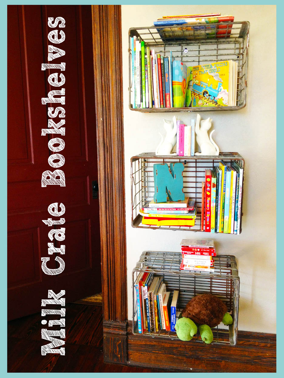 Brilliant Milk Crate Bookshelves  Photos  HGTV Canada