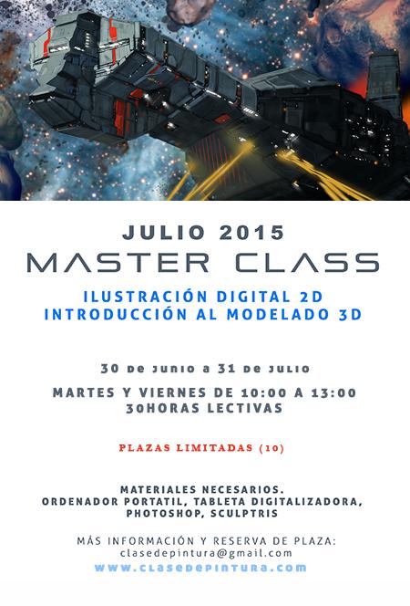 MASTER CLASS EN JULIO