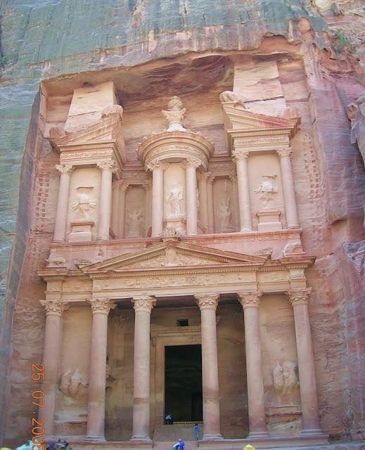 Petra, Jornadia