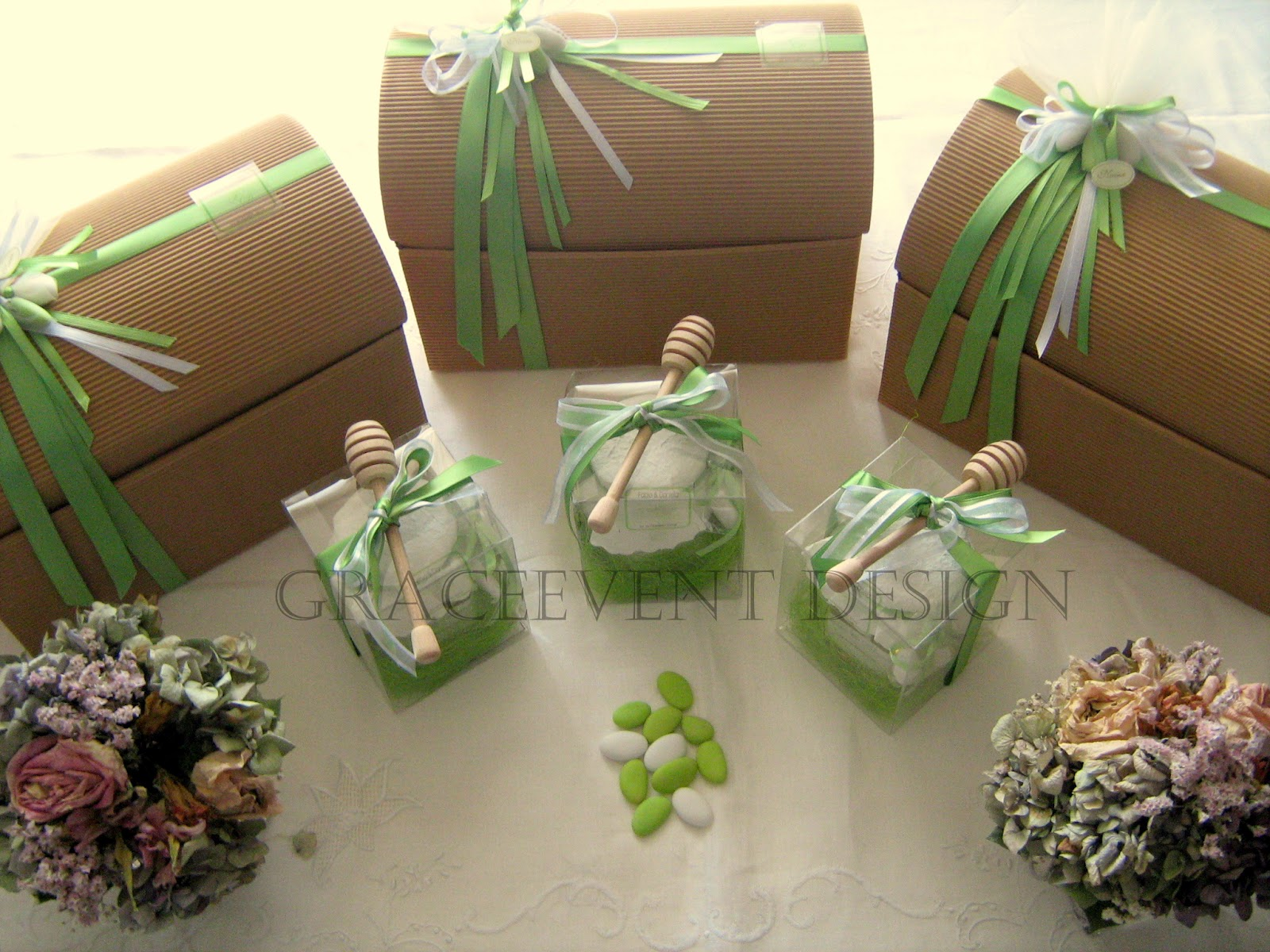 Matrimonio Tema Verde : Nozzeeventi bio ed eco chic matrimonio verde mela dalla