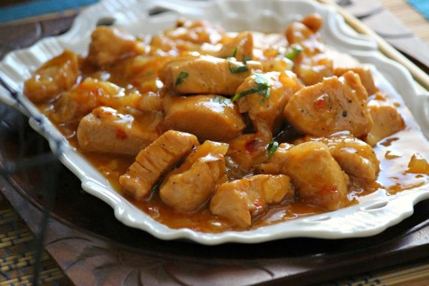 Garlic Peach Grilled Chicken Recipes — Dishmaps