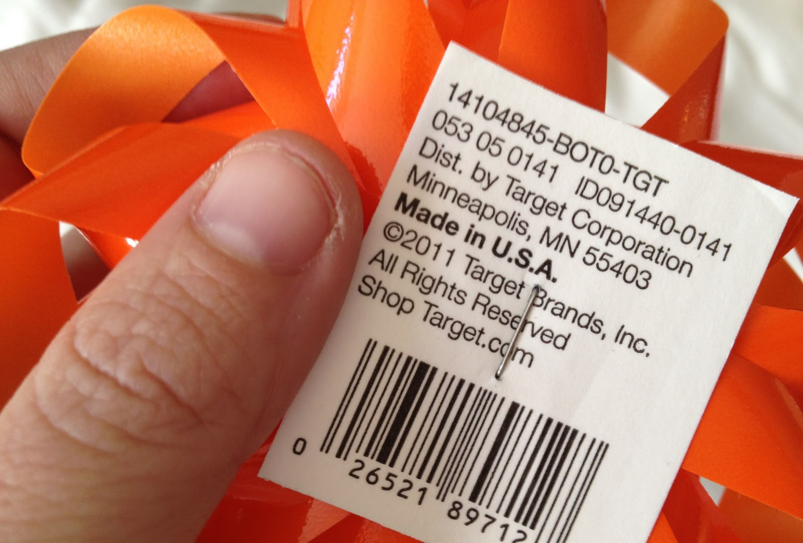 Target can be a Treasure Trove if you Look Carefully for Made in USA ...