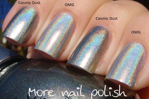 China Glaze Hologlam Cosmic Dust Like Most Holographic Nail Polish