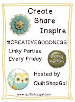 http://quiltshopgal.com/creativegoodness-linky-party-october-2nd/