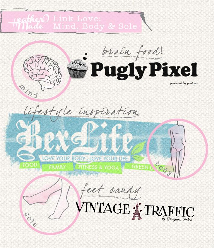 heatheromade. pugly pixel. bexlife, vintage-traffic.